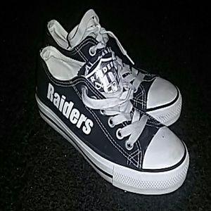 Cheap mengsai Shoes | Oakland Raiders Converse | Poshmark  for cheap